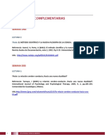 Lecturas Complementarias U1