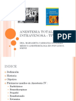 Anestesia Intrevenosa