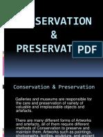 conservation   preservation