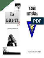 Gaceta Versión Electrónica