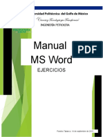 Ejercicios MS Word 50-70 Adrian Mtz. 1ro C IP