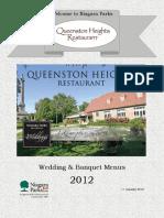Queenston Heights Restaurant Banquet Wedding 2012