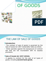 Sale of Good