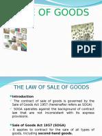 Sale of Good