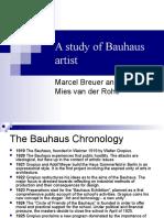 A Study of Bauhaus Artist