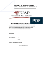informe granumetrico uap