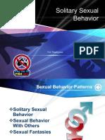 Solo Sex Behavior