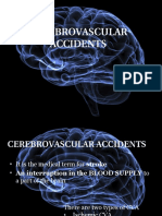Cerebrovascular Accidents