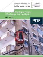 Who Turns Out the Light in Gaza