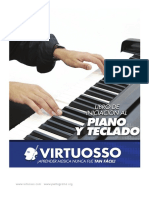 Libro de Iniciación Al Piano y Teclado