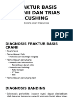 Fraktur Basis Cranii Dan Trias Cushing