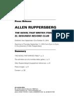 DP Allen Ruppersberg en LD