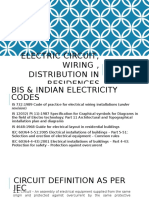 Electic Circuit, Wiring Etc