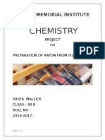 CHEMISTRY project class 12.