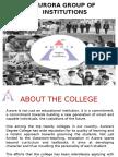 Aurora Group of Institutions