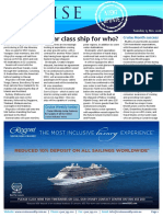 Cruise Weekly for Tue 15 Nov 2016 - Mystery vessel ordered, Cruise Month, MSC Cruises, Celebrity Cruises, Dream Cruises, Norwegian Cruise Line AMPERSAND more