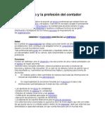La Ética y La Profesión Del Contador