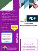 BUET MSC Admission Program
