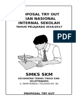 Proposal Try Out Sekolah Docx