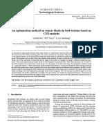An optimization method on runner blades in bulb turbine based on CFD analysis_2.pdf