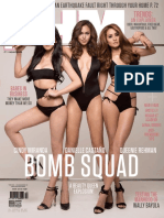 Fhm Philippines October 2015
