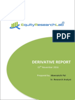 DERIVATIVE REPORT 15 November Equity Research Lab