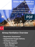 Airway Management and Ventilation EMS Refresher
