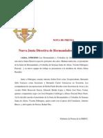 LA NUEVA DIRECTIVA DE LA JHHCC ALZIRA
