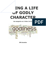 Living a Life of Godly Character