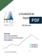 Viscoelasticite - Cours 2013-2014