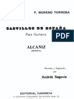 Federico Moreno Torroba, Alcañiz