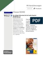 Presse Echo 24 Der Richtige Risikoschutz