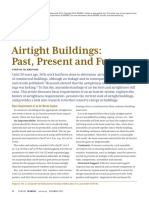 Airtight Buildings