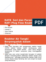 CSTR Seri Dan Plug Flow Kel 1