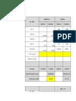 Aurum Dg Set Consumtion Upto Aug 2014