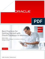 CON6775 Colgan-CON6775 Best Practices for Getting Started With Oracle Database in-Memory