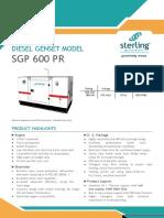 SGP 600 PR