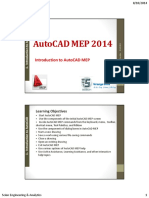 Introduction to AutoCAD MEP