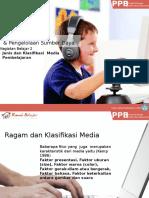 Jenis Dan Klasifikasi Media