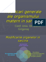 5Modificari Generale in Sarcina