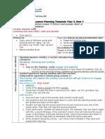 lesson plan- short a sound - english  1
