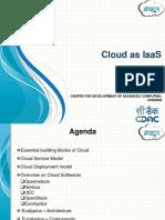 Cloud as IaaS