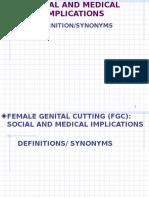 Female Genetal Cutting