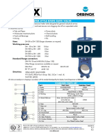 Knife Gate Valve - For Reference Only