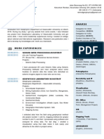 Curriculum Vitae (Resume)