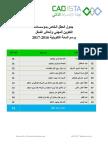 جدول العطل الخاص بمؤسسات التكوين المهني وإنعاش الشغل 2017