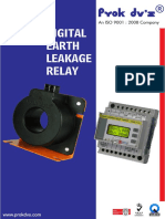 Prok SCS Digital Earth Leakage Relays