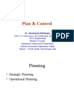 Principal Of Management Note(Plan & Control)