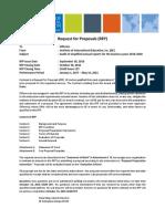 RFP Audit Services