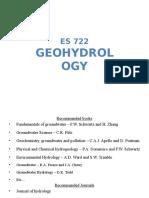 IIT Roorkee Geo Hydrology